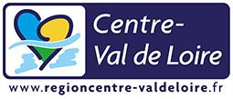 Logo of the region centre val de loire